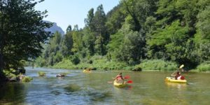 Canoe kayak sur les rivières du Tarn et Garonne